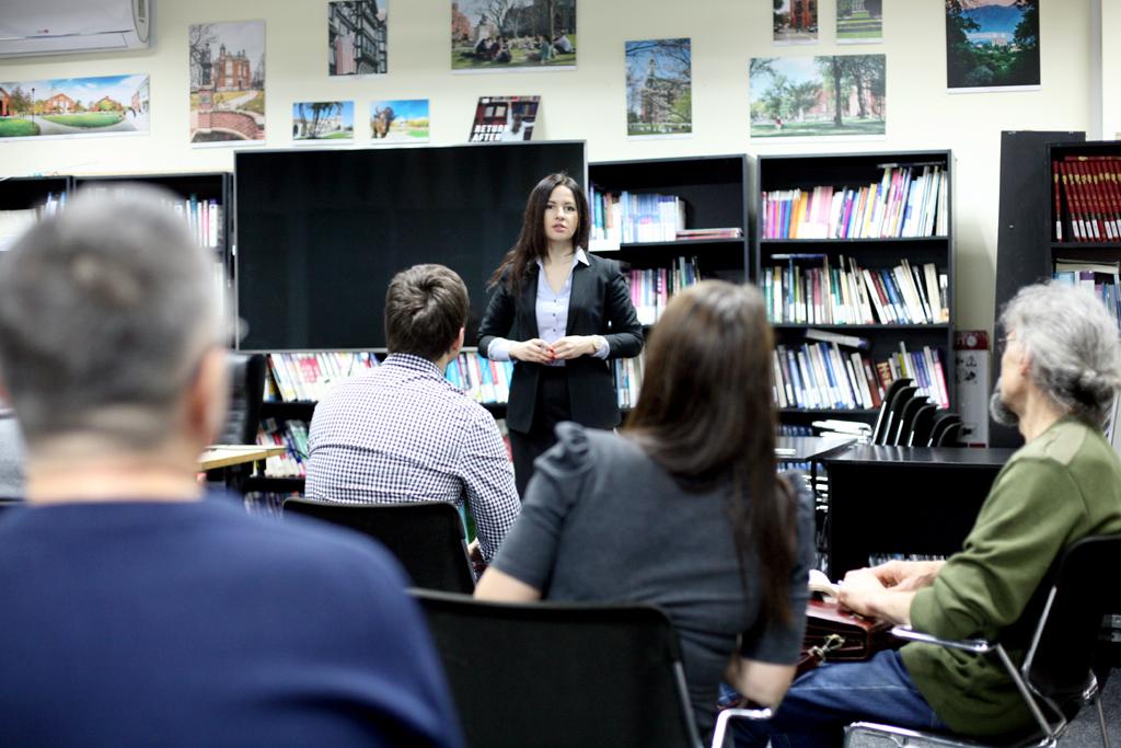 тренінг Лилії Кільдерової з ораторської майстерності